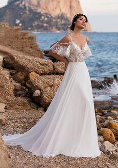 WHITE ONE HEATH A-Line Wedding Dress