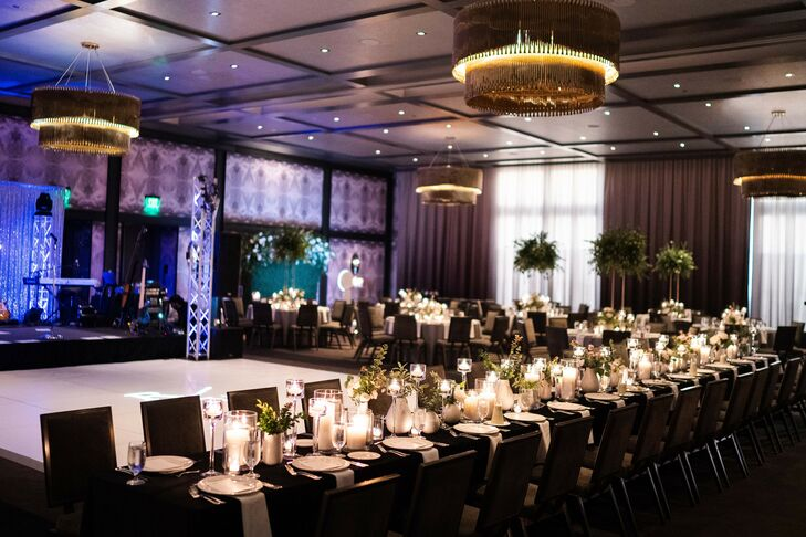Ballroom Reception at the Hotel Van Zandt in Austin, Texas