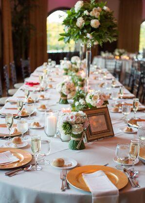 Romantic Reception Tablescapes