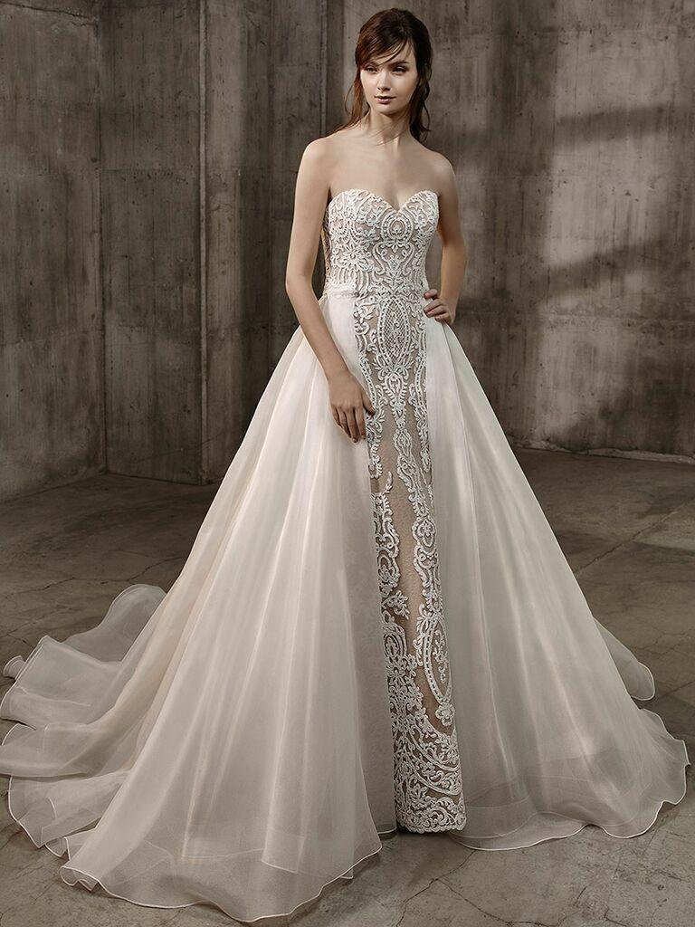 Badgley Mischka Fall 2017 Collection: Bridal Fashion Week Photos