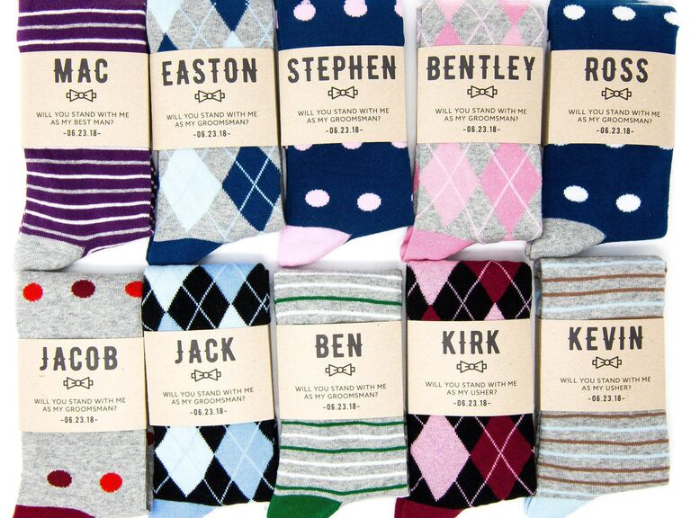 15 Fun Groomsmen Socks and Wedding Socks for the Groom