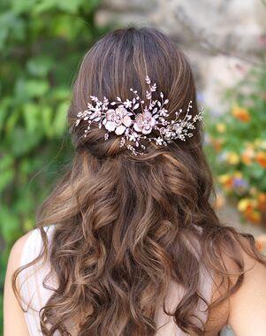 Dareth Colburn Layla Wedding Back Comb (TC-7048) Gold Pins, Combs + Clip