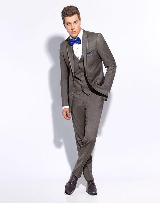 Allure Men Shale Tuxedo Gray Tuxedo