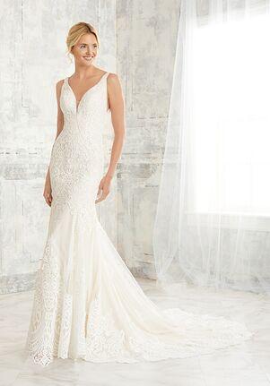 Adrianna Papell Platinum 31137 Mermaid Wedding Dress