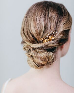 Davie & Chiyo   Hair Accessories & Veils Eden Hairpin Gold, Pink, Silver Pins, Combs + Clip