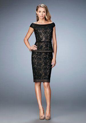 La Femme Evening 23080 Black Mother Of The Bride Dress