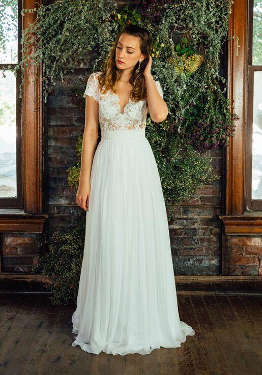 4dbc0deab78 Lea-Ann Belter Abigail Top Lily Skirt Wedding Dress - The Knot