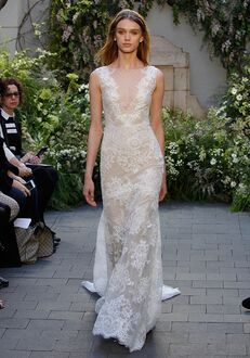 Monique Lhuillier Summer Sheath Wedding Dress
