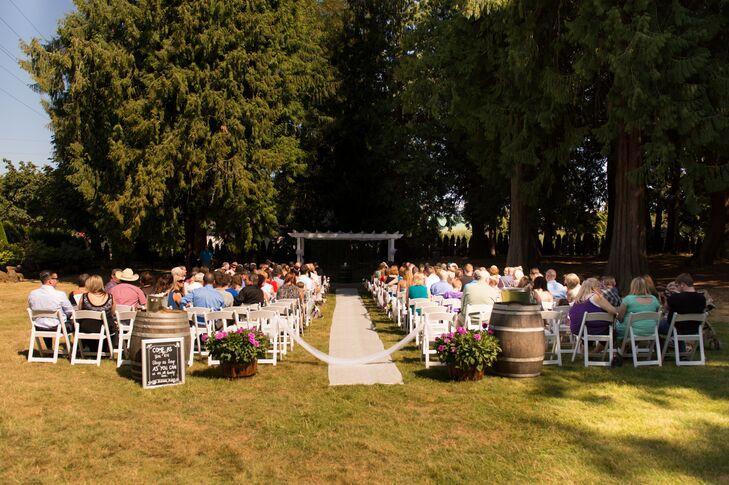 Cedarville Lodge Outdoor Ceremony