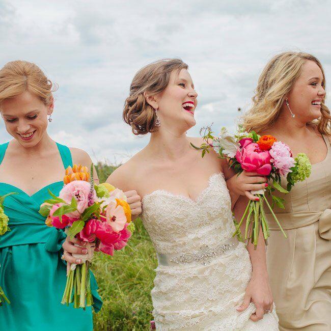 Alvina Valenta Lace Bridal Gown