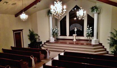 Arbuckle Wedding Chapel Reception Venues Davis Ok