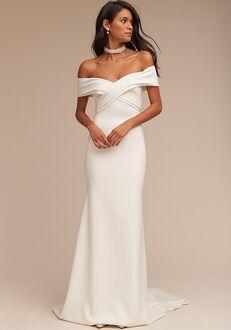 BHLDN Blake Sheath Wedding Dress