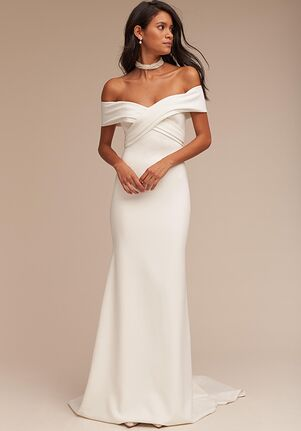 BHLDN Blake Sheath Wedding Dress
