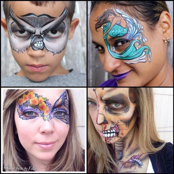 Fabulous Faces by Kellie - Face Painter - Lindenhurst, NY