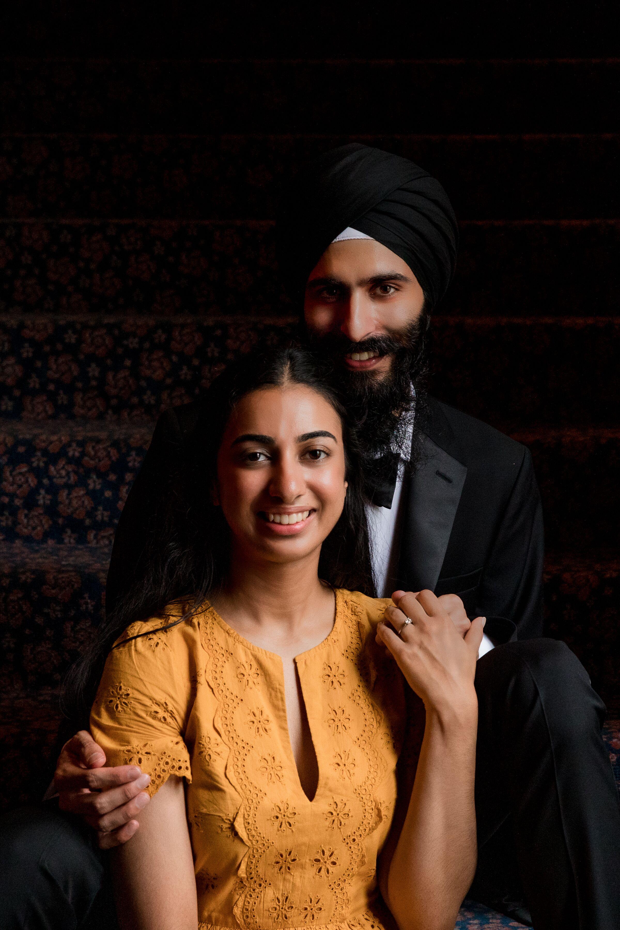 Image 1 of Benita and Prateek