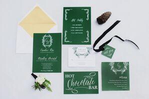 Emerald Green Invites