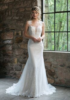 Sincerity Bridal 44056 Sheath Wedding Dress