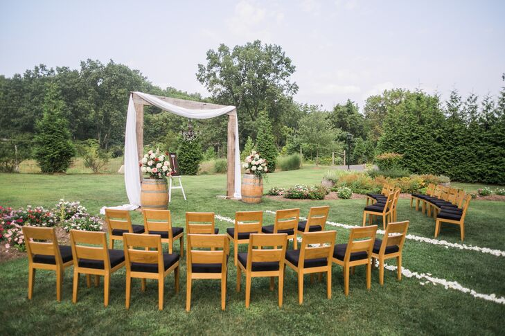 Intimate Natirar Garden Ceremony