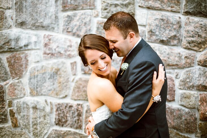 """While the day largely went off without a hitch, Jon accidentally flung his ring off under a table while the couple danced their way into the reception. """"He grabbed it and we kept on dancing!"""" says Katherine. """"Don't sweat the small stuff, because there is no way everything will go 100% perfectly."""""""