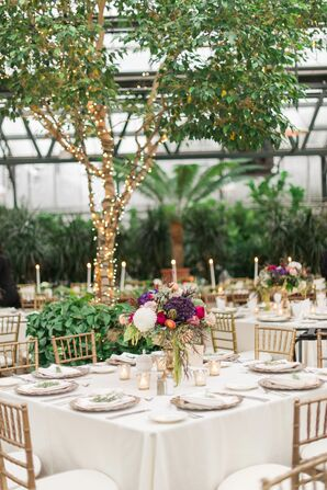 Formal Garden Reception at Planterra