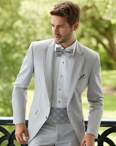 Allure Men Cement Gray Tuxedo