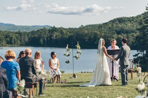 Lakefront Ceremony at Ogontz White Mountain Camp