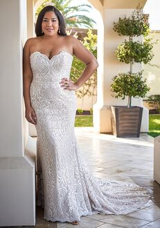 Jasmine Bridal F221065N Mermaid Wedding Dress
