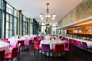 Reception Space at Bryant Park Grill in New York City