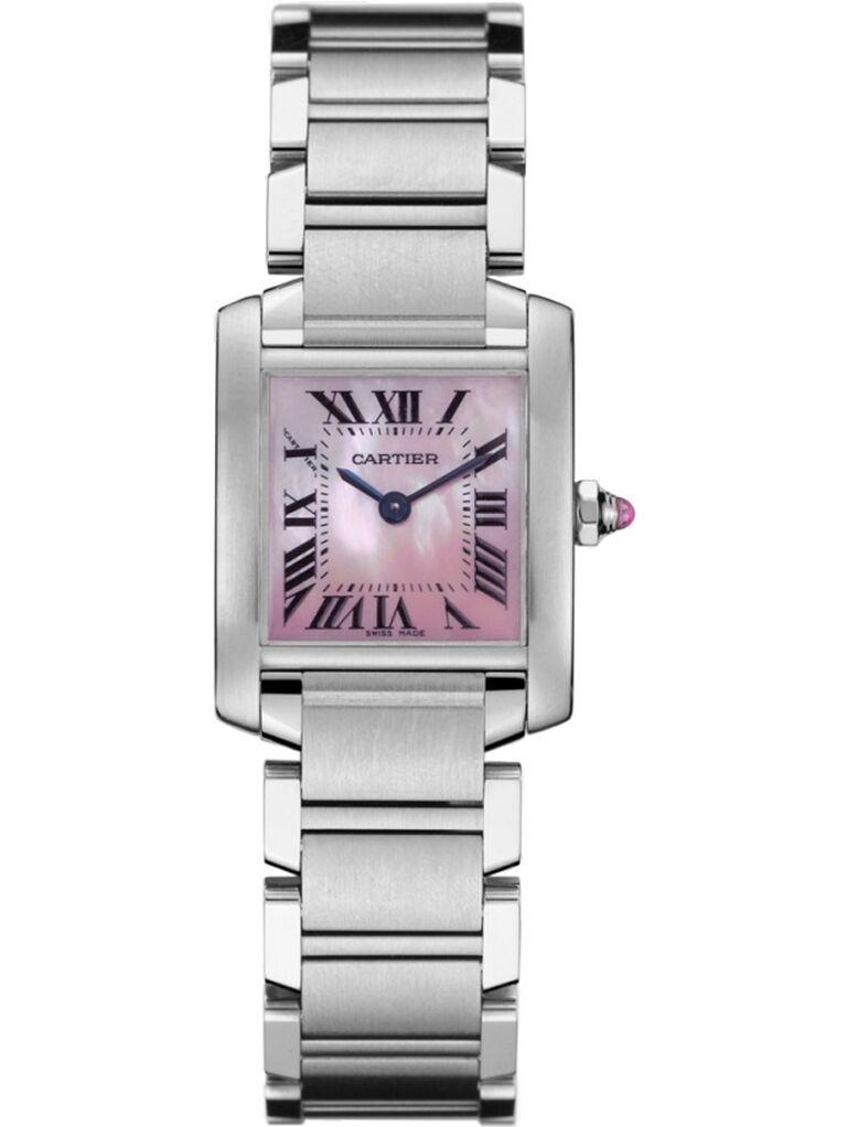 Cartier pink watch 15-year anniversary gift