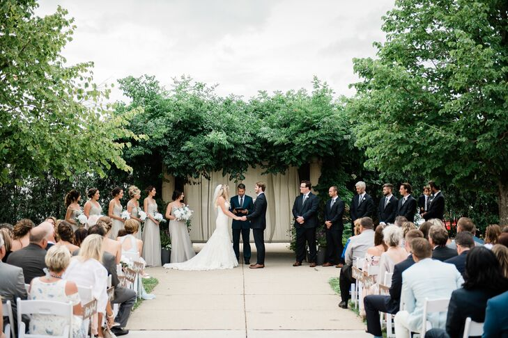 Classic Ceremony at MSU Horticulture Gardens in East Lansing, Michigan