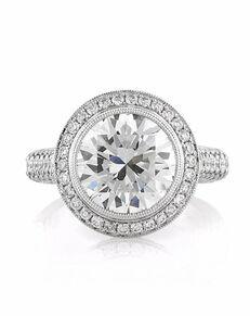 Mark Broumand Glamorous Round Cut Engagement Ring