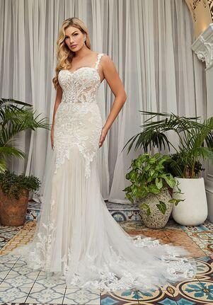 Beloved by Casablanca Bridal BL353 Fleur Mermaid Wedding Dress