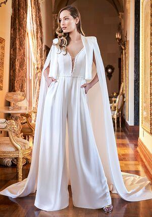 Jasmine Couture T222001A Sheath Wedding Dress