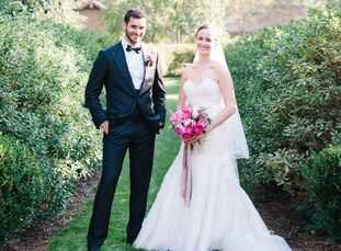 Caitlin Parker (27 and a pharmacist) and Kyle Shannon (29 and an attorney) grew up in the same town but didn't get to know each other until they both
