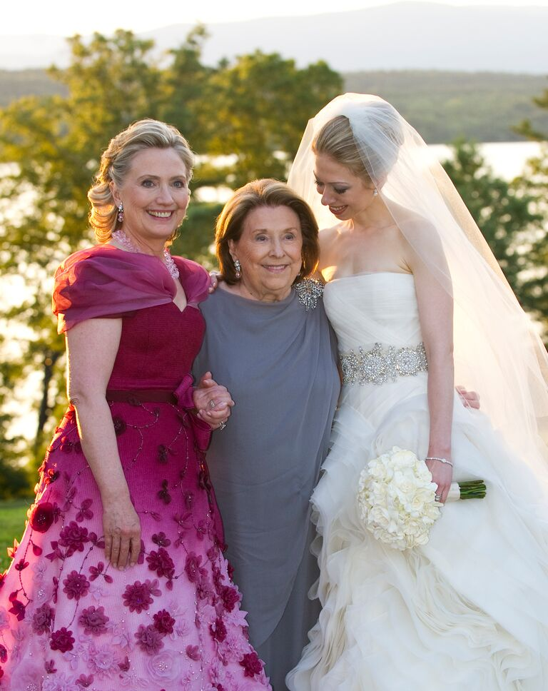 chelsea clinton with hillary clinton and grandmother dorothy howell rodham