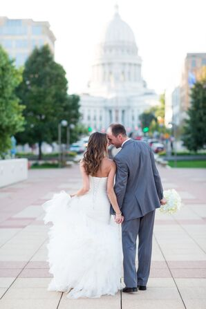 Elle and James Hold Hands in Madison, Wisconsin