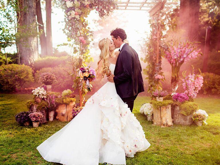 Hayley Paige and Danny Wallis's wedding