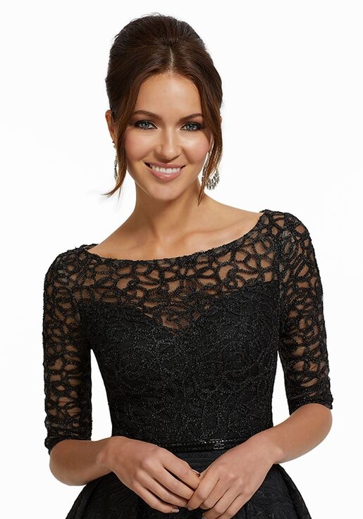 MGNY 72004 Black Mother Of The Bride Dress