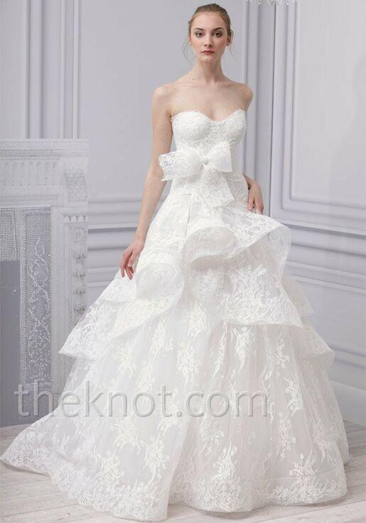 Monique Lhuillier Belle Ball Gown Wedding Dress