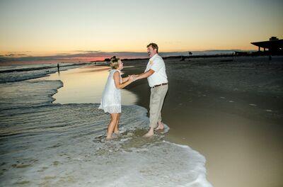 At The Beach Weddings