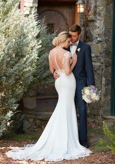 Essense of Australia D2298 Sheath Wedding Dress