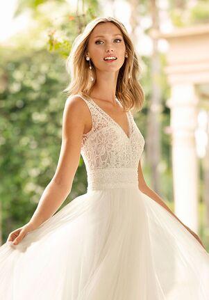 Rosa Clará Soft Rayel Sheath Wedding Dress