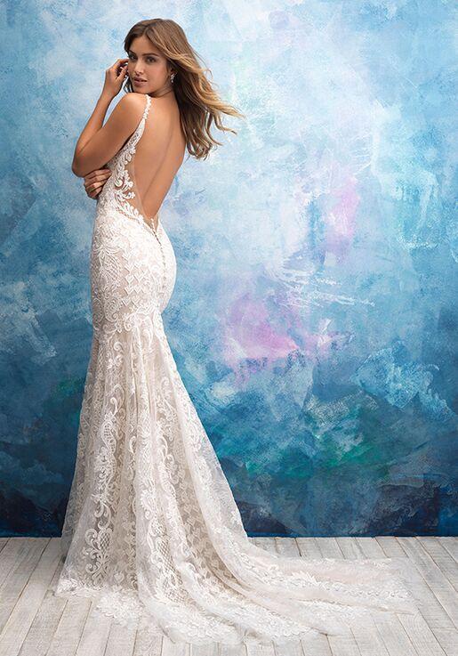 Allure Bridals 9575 Sheath Wedding Dress
