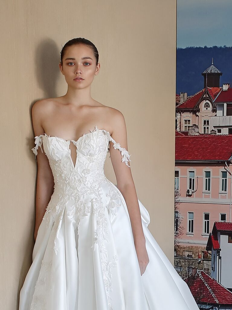 e826deceac0 Galia Lahav Alegria Fall 2019 Collection  Bridal Fashion Week Photos