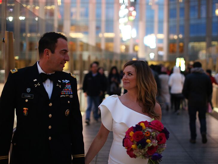 Brianna Keilar and Fernando Lujan Las Vegas wedding