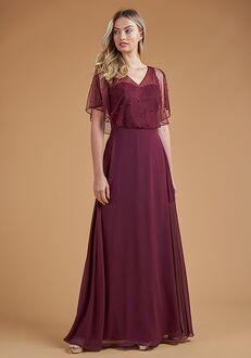 B2 Bridesmaids by Jasmine B223057 V-Neck Bridesmaid Dress