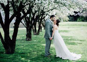 Boones Dam Wedding Portrait