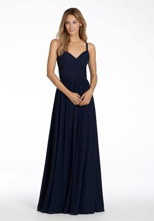 Hayley Paige Occasions 5711 V-Neck Bridesmaid Dress