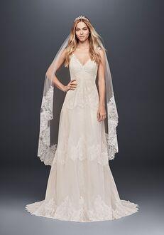 David's Bridal David's Bridal Style MS251189 Sheath Wedding Dress