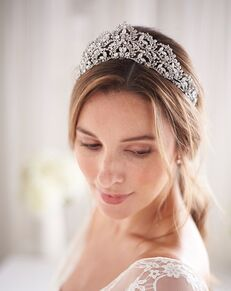 Dareth Colburn Jocelyn Bridal Tiara (TI-3356) Silver Tiara